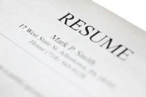 Qualities for a resume